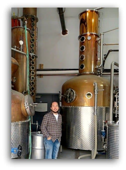 Hudson Whiskey stills