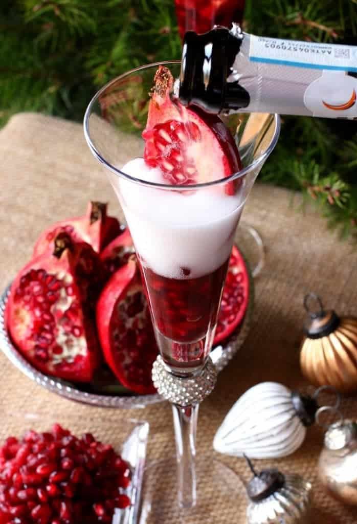 Grab the prosecco and make a few of these Prosecco Holiday Pom Pom's this Christmas!