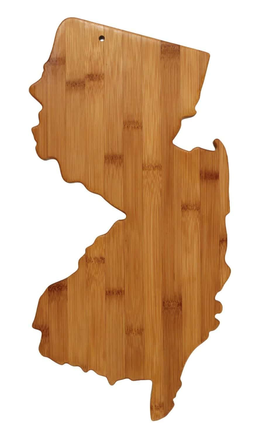 New Jersey Bamboo Cutting Board