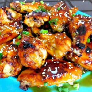 Sticky Asian Glazed Chicken Wings | The Best Baked Wings Recipe