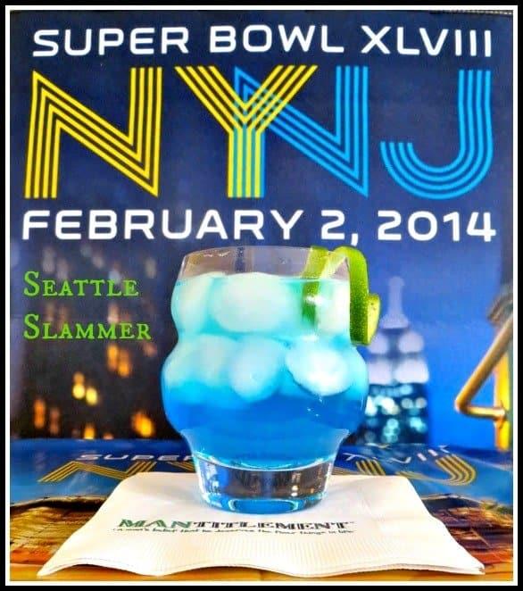 Super Bowl Team Drinks - Seattle Slammer