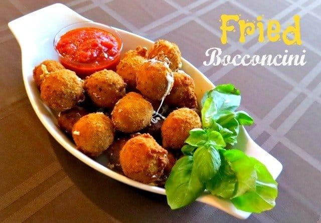 friedbocconcini