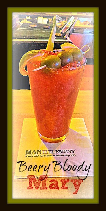 Beer Bloody Mary cocktail