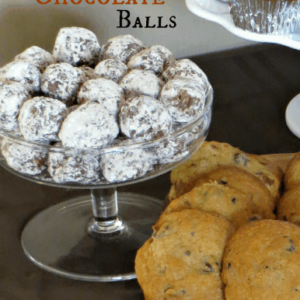 Bourbon Chocolate Balls