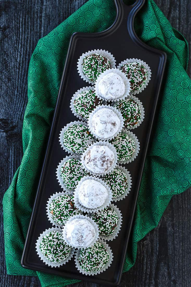 Bourbon Ball recipe for parties and holidays