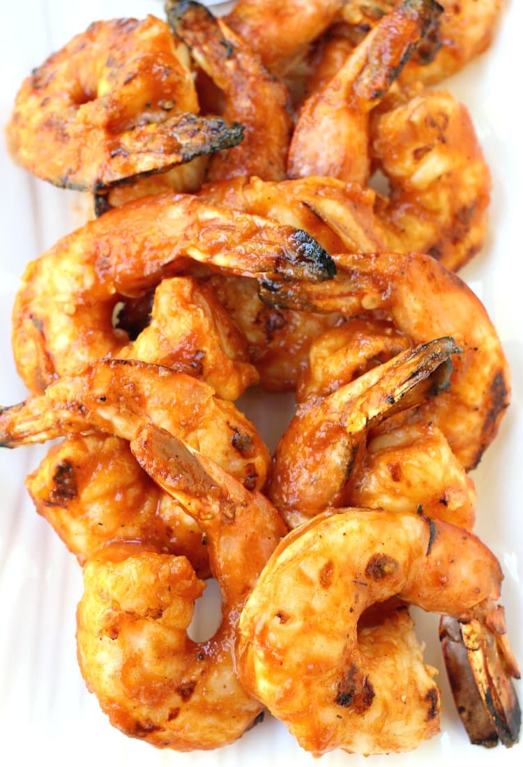 Grilled Shrimp Cocktail with Mango BBQ Sauce will be a hit ...