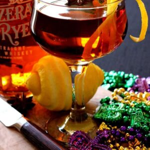 The Sazerac Cocktail is a classic New Orleans cocktail!