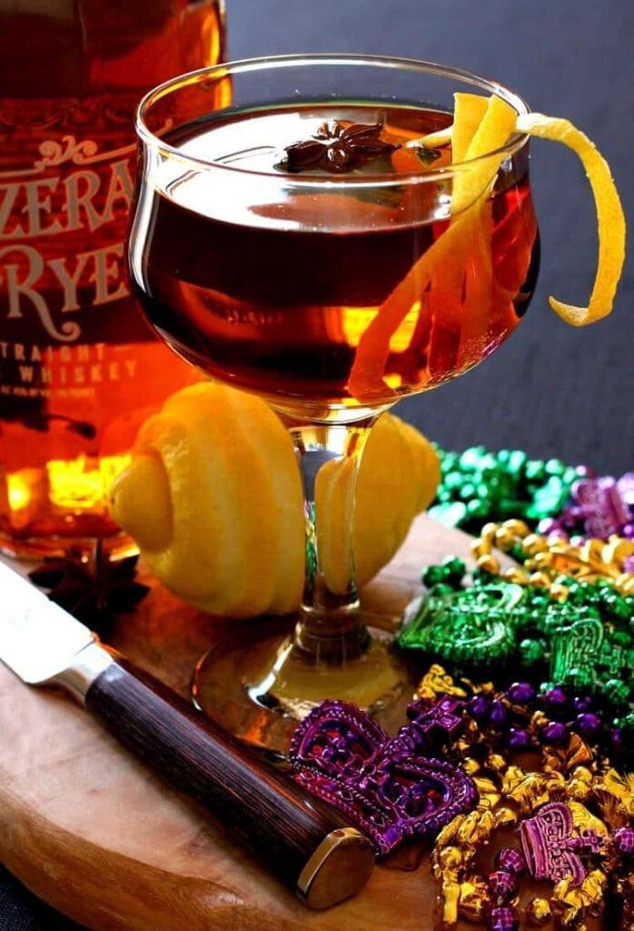 Sazerac cocktail mantitlement for Classic new orleans cocktails