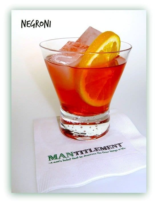 Classic Negroni, with a Twist