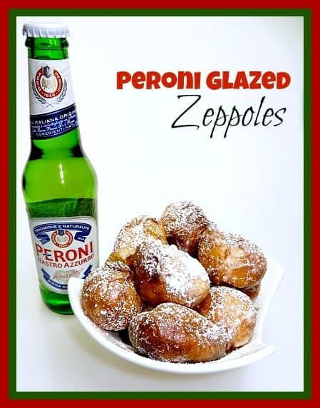 Beer Glazed Zeppoles recipe