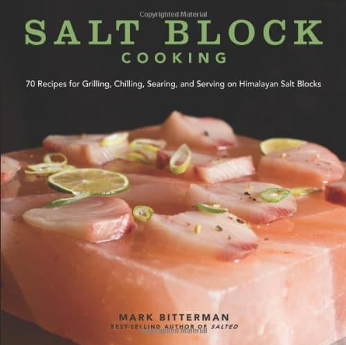Himalayan Salt Block cook book