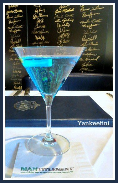 Yankeetini cocktail recipe