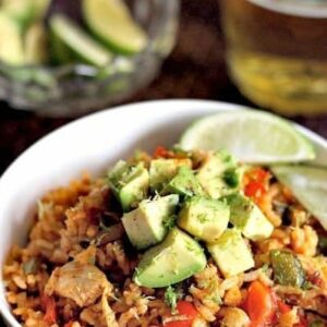 Chicken Fajita Fried Rice