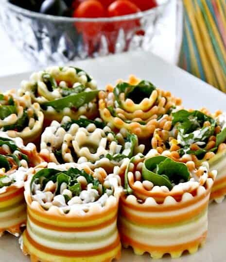 Antipasto Roll-ups