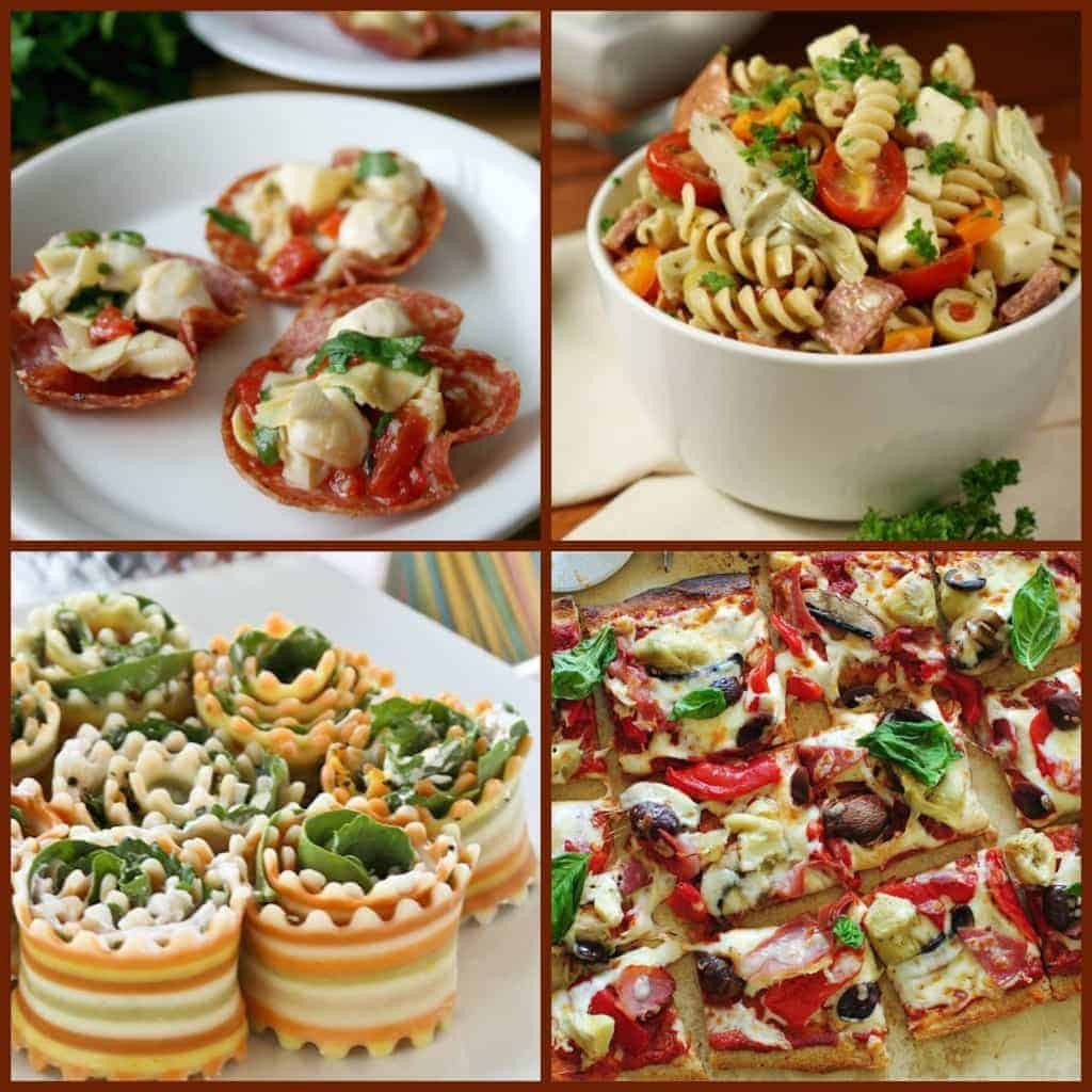 Antipasto collage2