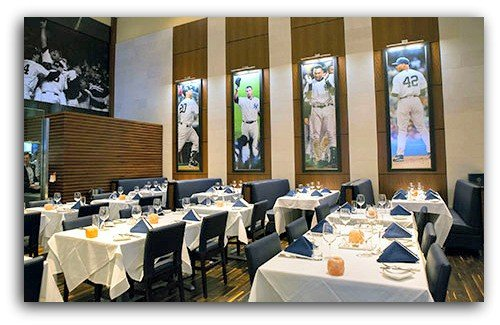 NYY Steak House dining room