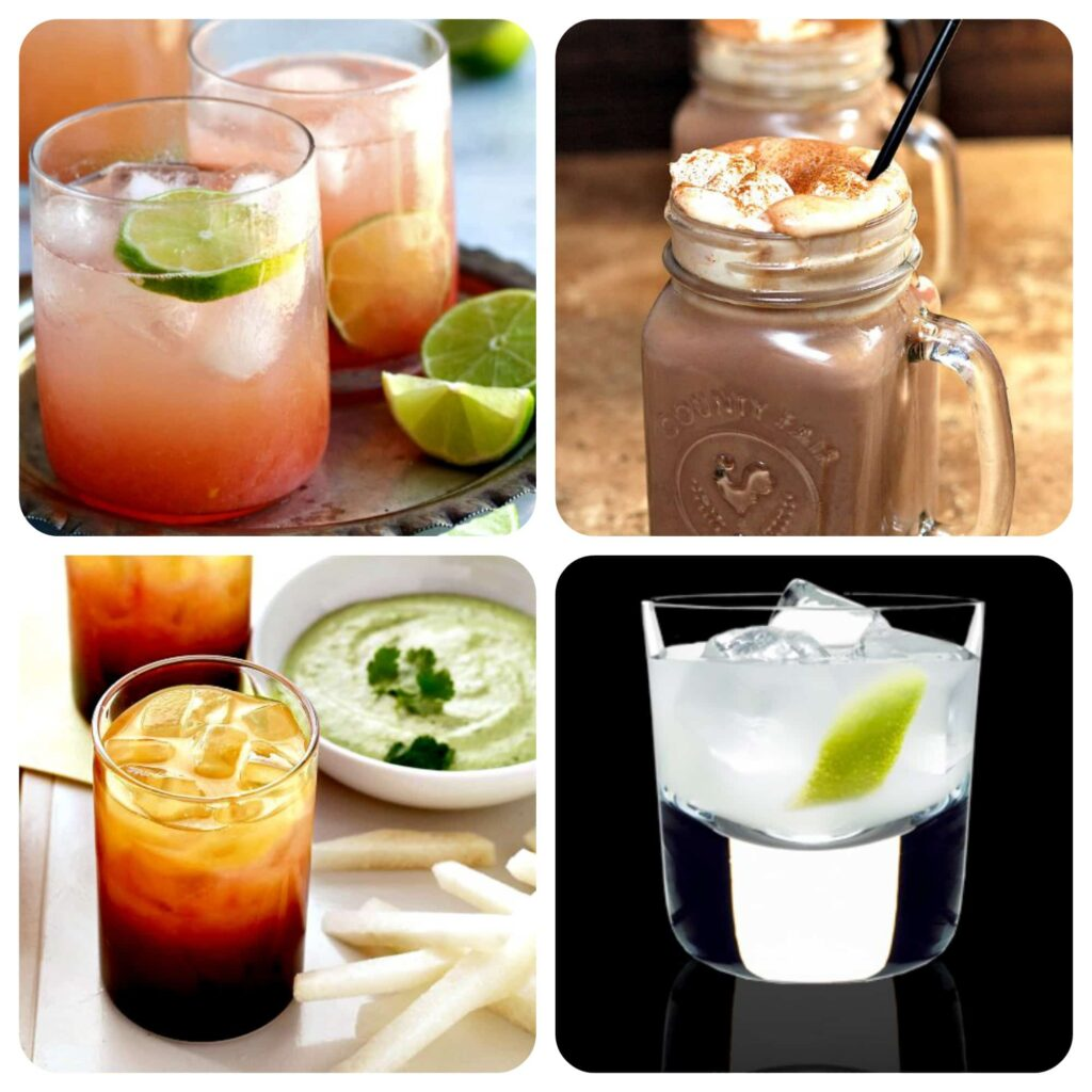 tequila drink collage2
