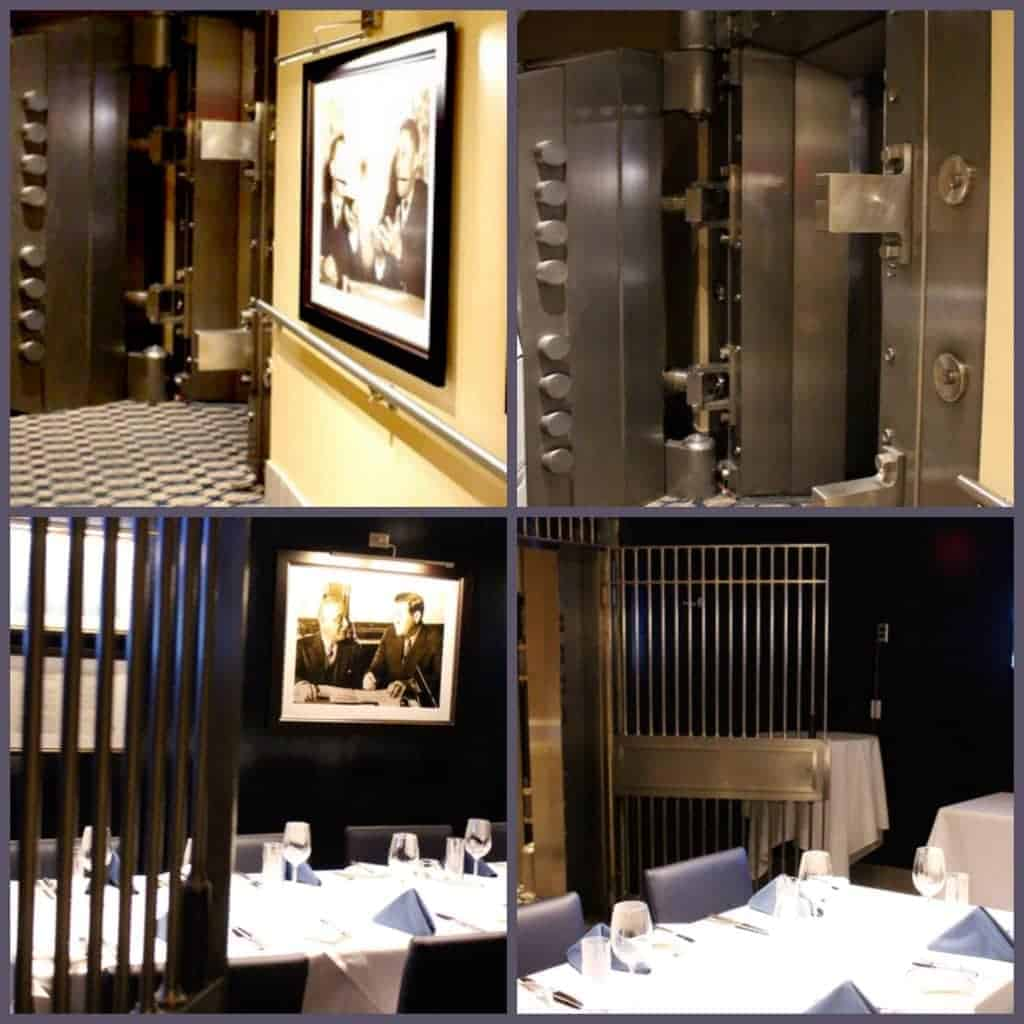 vault collage at NYY Steak