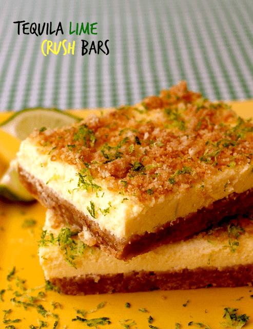 tequila lime crush bars