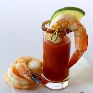 Shrimp Shooters Recipe | Easy Shrimp Cocktail Appetizer