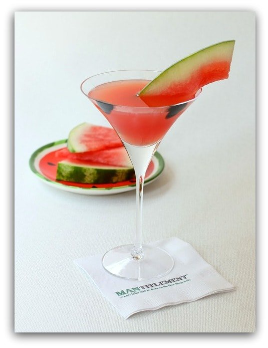 watermelon cosmo cocktail
