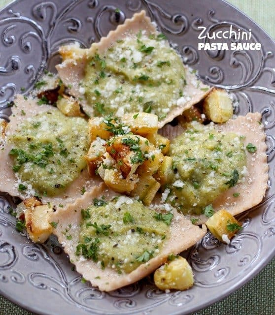 zucchini pasta sauce3