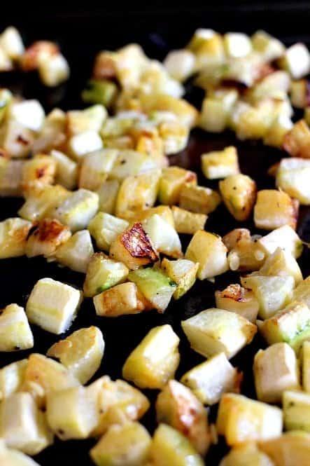 zucchini roasting