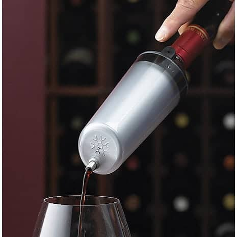 wine chiller pour