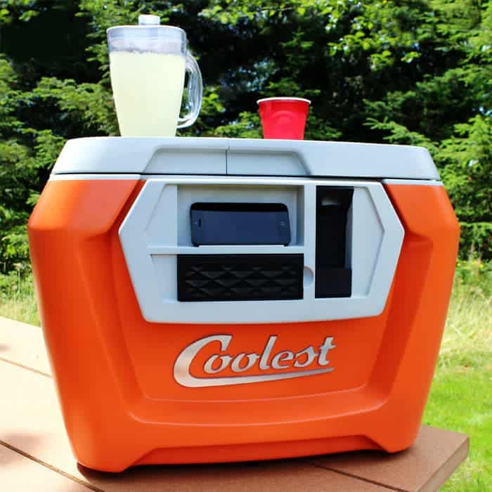 Coolest Cooler with lemonade on top