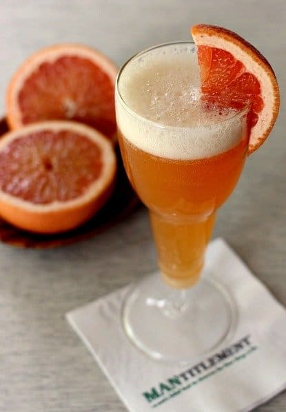 Grapefruit beer bellini1