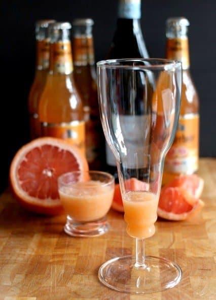 grapefruit bellini process