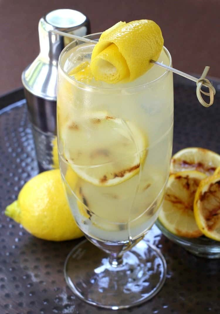 Grilled Spiked Lemonade - Mantitlement