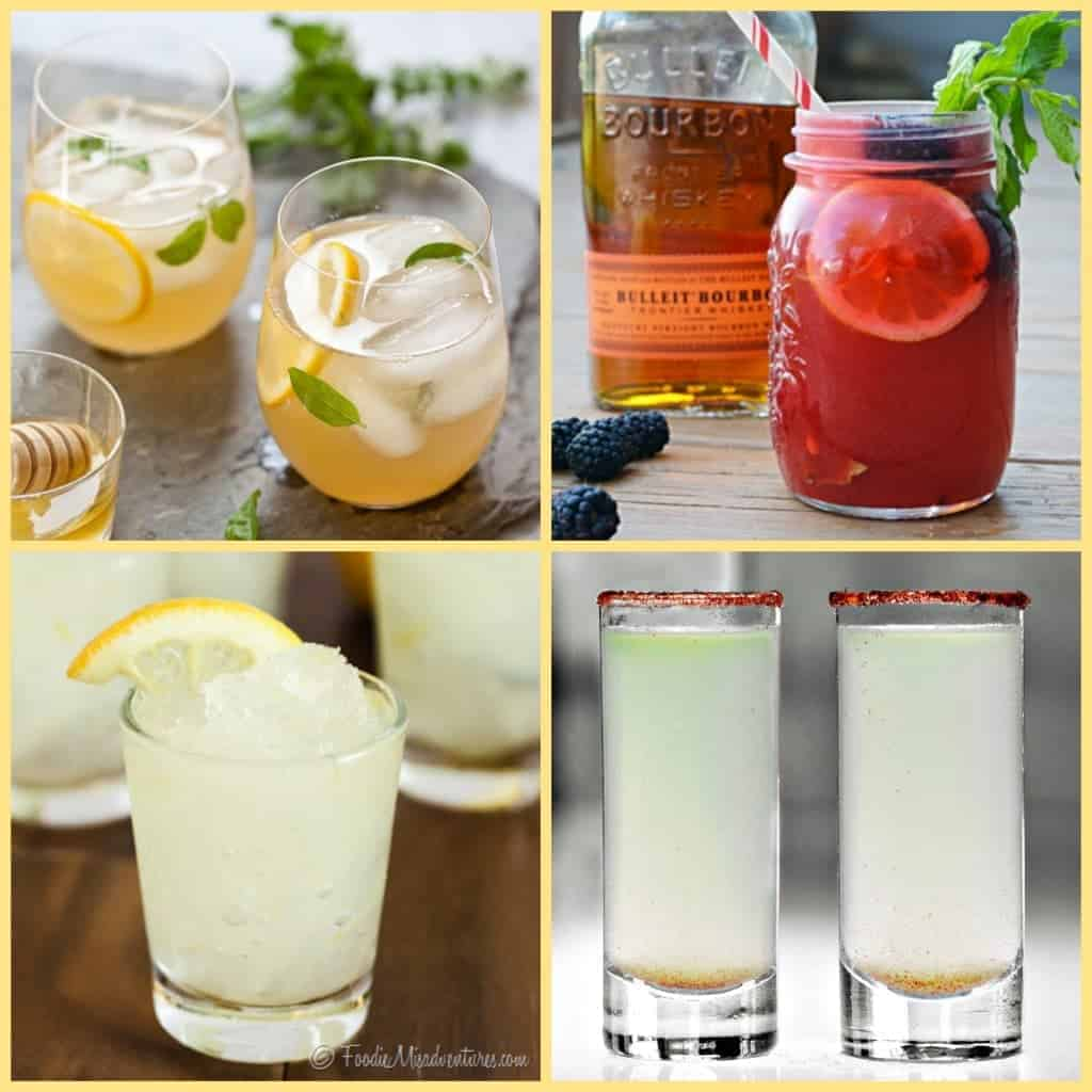 lemonade cocktail round up