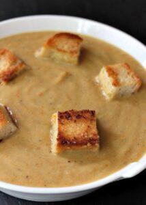 Roasted Zucchini Soup