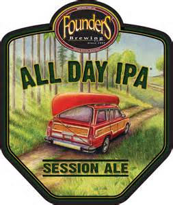 all day ipa logo label