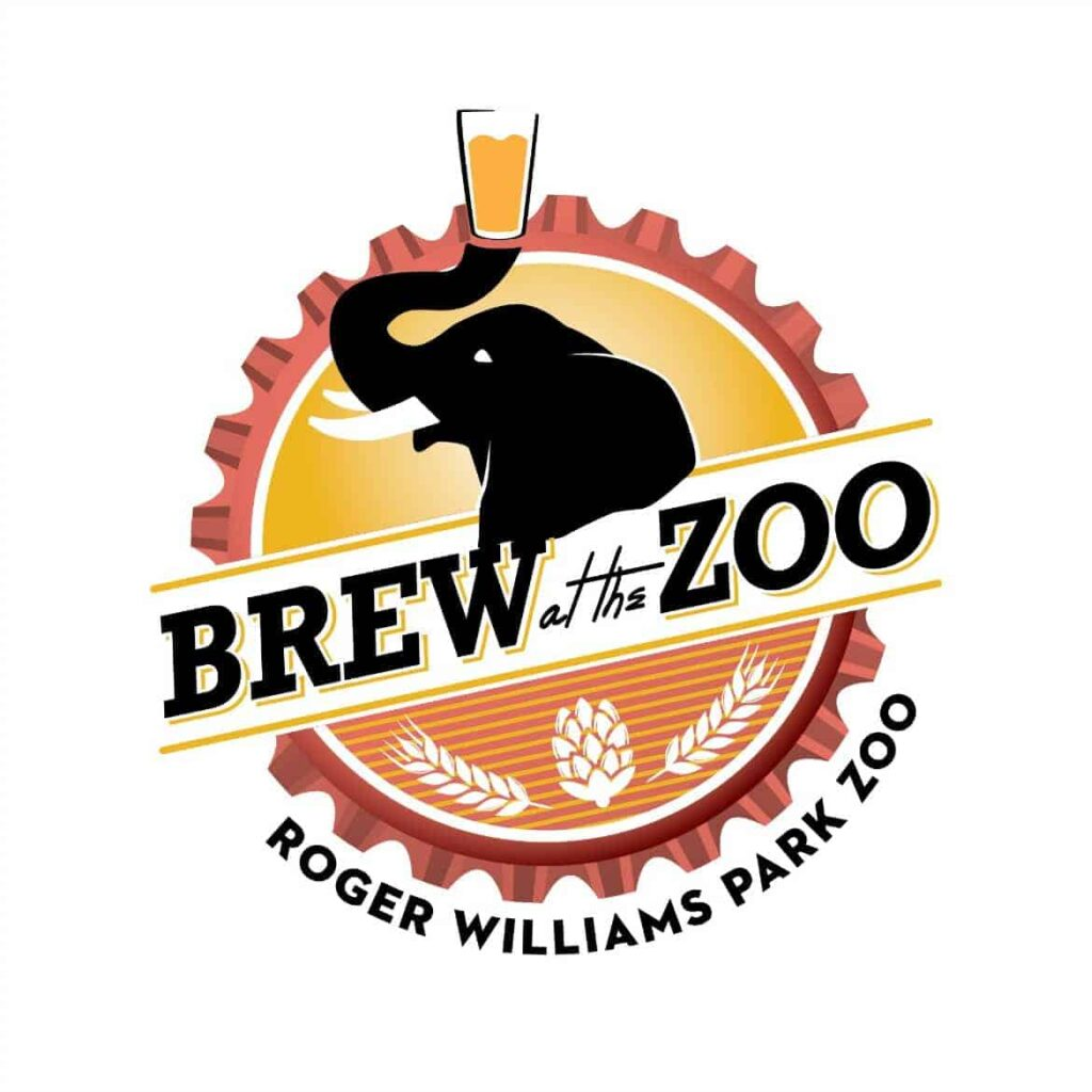 Brew at the zoo logo
