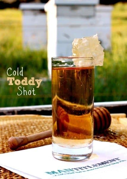 Cold Toddy Shot