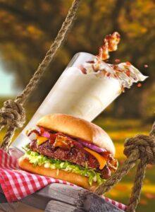 Beam-N-Bacon Boozy Shake