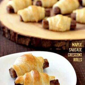 Maple Sausage Crescent Rolls