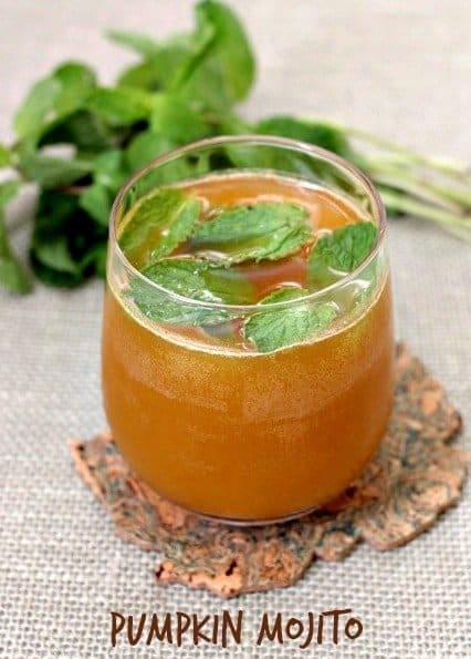 pumpkin mojito feature