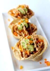 Pumpkin Beer Chicken Tacos