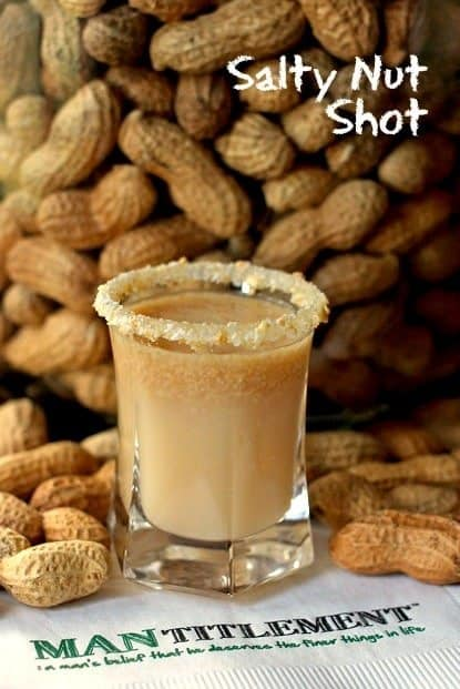 salty nut shot feature