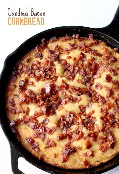 candied Bacon Cornbread feature