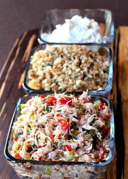 Crispy Crab Stuffed Mushrooms are an appetizer recipe with crab and breadcrumbs
