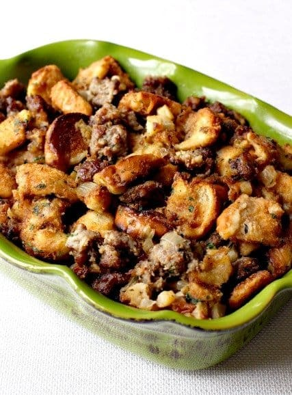 "... ""The Best"", but this really is The Best Sausage Stuffing recipe"