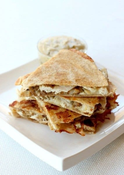Thanksgiving Quesadillas will use up all your Thanksgiving leftovers in the most amazing way!
