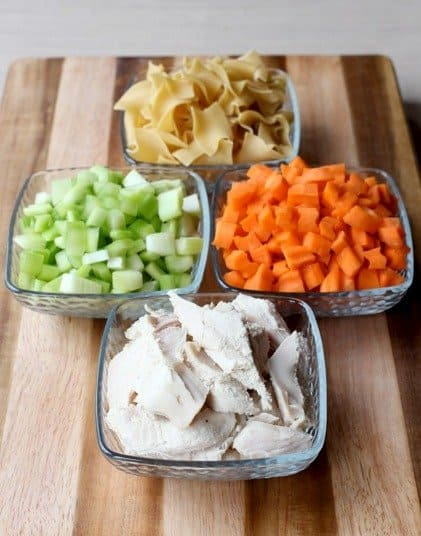 Homemade Turkey Soup is made with fresh vegetables, leftover turkey and noodles