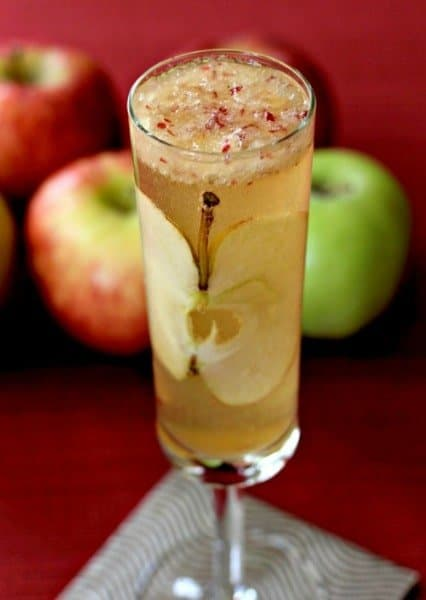 Apple Bourbon Bellini2