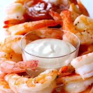 Roasted Shrimp Cocktail Appetizer