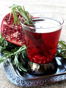 A Rosemary Reposado for your Holiday cocktail!
